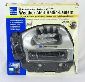 Weather Channel Alert Radio/Lantern Model VEC 188