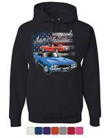 Dodge Challenger American Classic Hoodie American Muscle Car Sweatshirt
