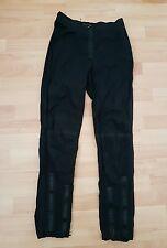 Lovely Karen Millen Casual Sport Type Trousers with zips, size UK8 - VGC