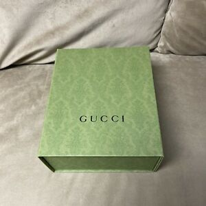 Authentic Gucci Gift Box Magnetic Closure 10.25x8.5x4.5 Inch