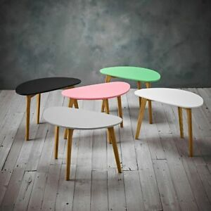 Astro Side Tables - Modern Lamp End Sofa Tables Green, Black, Grey, Pink, White