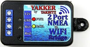 NMEA Wi-Fi and wired converters by YAKBITZ from UK Distributor, AVES Marine Ltd