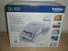 Brother QL-500 Professional Thermal Label Printer New