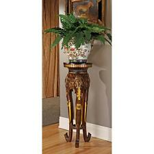 """32"""" Graceful African Elephant Trunks Trio Architectural Pedestal Plant Stand"""