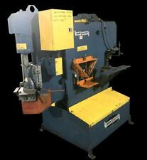 """Springwater Iron Crafter 4141 40 Ton Iron Worker 3"""" x 3"""" x 5/16"""" w/ Dies"""