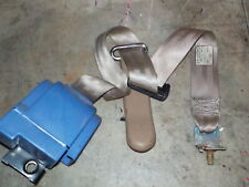 98-01 Ford Explorer 2dr Passenger Rear Right Seat Belt Tan Retractor