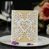 Weddings Invitations Vintage Post Cards With Printable Inner Papers Card Set New