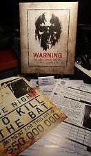 Batman Arkham Origins Collectors Edition Assassin's Dossier Contract Pack
