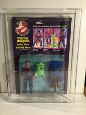 The 1980s The Real Ghostbusters Winston Zeddmore Figure Carded Sealed 75% Graded