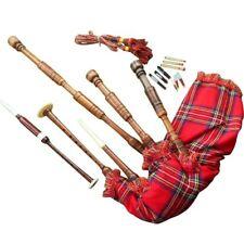schottischer großer Highland Dudelsack Palisanderholz