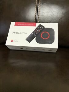 MAG 425A  Android box 4K INFOMIR  WiFi  capabilities 2GB/8GB + Extra Remote Ctrl