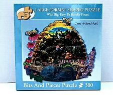 Busy Bees Jigsaw Puzzle Large Format Shaped Pieces Easy To Handle New Sealed