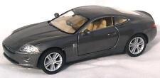 Diecast 1:38 Jaguar XK coupe in metallic gunmetal grey