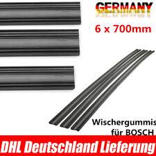 6 x 700mm Wischergummis für BOSCH AEROTWIN Ersatzgummi Scheibenwischergummi Flex