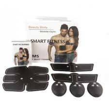 EMS Muscle Training Body Shape Fit Set ABS Six Pad Fitness Massage Home Trainer