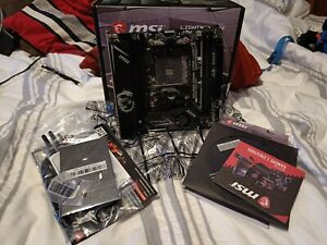 MSI MPG B550I GAMING EDGE MAX WIFI ITX Motherboard for AMD AM4 CPUs
