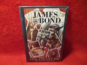 JAMES BOND AGENT 007 LIVE AND LET DIE HARDCOVER  SEALED