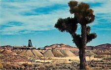 1950s Chrome Postcard; Abandoned Mine, Ghost Town Goldfield Nv Esmeralda County