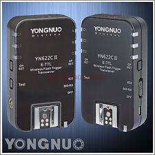 Yongnuo YN-622C II Wireless ETTL HSS Flash Trigger for Canon 550D 500D 450D 400D
