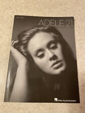 Adele 21 Piano Sheet Music Book Hal Lenoard Lyrics 11 Songs