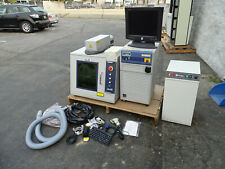 Miyachi Unitek Lm35 Laser Sd Marker Workstation Yag Lm35 160mm Amp Fume Extractor