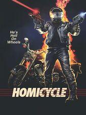 Homicycle DVD Bloody Earth Films 2014 Brett Kelly low-budget movie shocker uncut