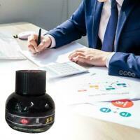 60ml 234 Black Carbon Füllfederhalter Tinte Schreibtinte best Refill Glasfl Q6N7
