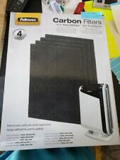 Fellowes Carbon Filters for AeraMax Air Purifiers, 4 Pack(6J.459)