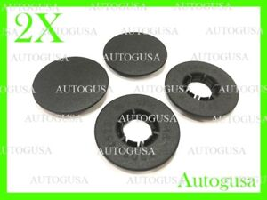 2PCS NEW RENAULT CAR MAT CLIPS FLOOR HOLDERS FIXING CLAMPS GRIPS PA6GF30