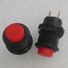 1pc Red Light 3V Led N/O 120v 6A Momentary Push Switch