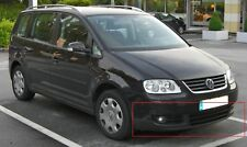 New Genuine VW TOURAN CADDY Front Bumper Spoiler Satin Black 1T0805903A9B9 OEM