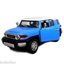 Toyota FJ Cruiser SUV Sports Utility Vehicle 1:36 Scale Diecast Model Blue NEW