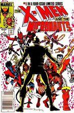 X-Men & Micronauts 1 1984 1st Limited Mini Series Nm Rare Marvel