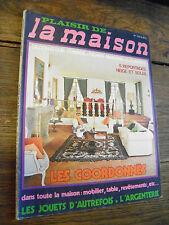 plaisir de la maison n° 123 les coordonnées jouets d'autrefois l'argenterie