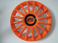 """4 Alu-Design Radkappen in 16 Zoll """"Grand Prix RS orange"""" Mercedes VITO"""