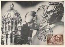 CP MAXIMUM JOURNEE DU TIMBRE 1951 CONGRES DE MEDECINE