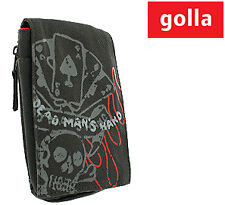 Golla Ipod Cellphone Music Player Pouch Aces Dark Gray (Iphone Blackberry Ipod)