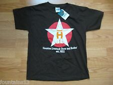 Houston Livestock Show Rodeo T Shirt Youth Size M 12-14