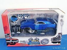MUSCLE MACHINES 1969 DODGE CHARGER DIE CAST 1/24 MODEL - NISB