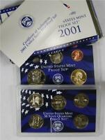 2001 Proof Set In Original Government Packaging, Free Shipping