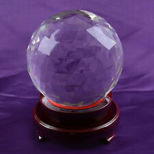 Clear Cut Crystal Sphere 150mm Faceted Gazing Ball Prisms Venue Decorations