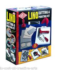 Essdee Lino De Corte & Kit De Impresión Póster de tarjeta de sello de crear arte y artesanía 23PC Set