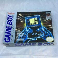 Nintendo Game Boy Handheld System Original Console DMG-01 Tetris + Box