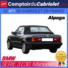 Capote type manuelle Bmw E30 cabriolet - Alpaga Stayfast®