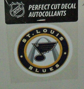 ST. LOUIS BLUES 4 X 4 DIE-CUT DECAL OFFICIALLY LICENSED PRODUCT