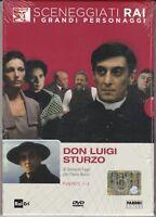 Dvd Sceneggiati Rai **DON LUIGI STURZO** di Giovanni Fago completa nuovo 1981