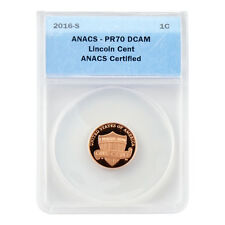 2016 Shield Cent - San Francisco Mint Proof - Certified ANACS PR70