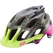 Fox Head Flux Mountain Bike Bicycle Helmet Black Pink Size L/XL (59-64cm) New