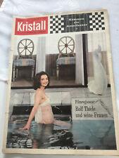 Zeitschrift Kristall - Nr. 19 - 1963 - Die aussergewöhnliche Illustrierte