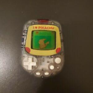 Pokemon Pocket Pikachu Pedometer Pet Color - Tested, Working!